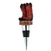 True Fabrications Rodeo Cowboy Boot Bottle Stopper