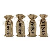 True Fabrications Twine Wine Gift Bag