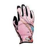 True Grip Mossy Oak Camo Womens Gloves, Medium