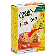 True Lemon Peach Iced Tea Drink Mix