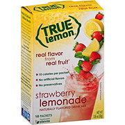True Lemon Strawberry Lemonade Drink Mix