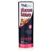 TRUEplus Glucose Tab Raspberry