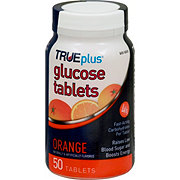 TRUEplus Natural Orange Glucose Tablets