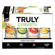 Truly Hard Seltzer Citrus Mix Pack 12 oz Cans