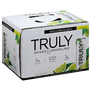 Truly Spiked & Sparkling Colima Lime 12 oz Cans