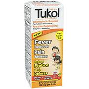 Tukol Children's Fever & Pain Relief Liquid Cherry