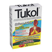 Tukol Maximum Strength Cough/ Mucus Relief Softgels