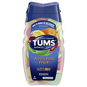 Tums Ultra Strength 1000 Assorted Fruit Chewable Tablets