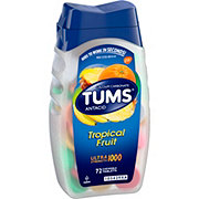 Tums Ultra Strength 1000 Tropical Fruit Chewable Tablets