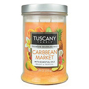 Tuscany Candle Caribbean Market Scented Candle with Essential Oils