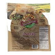 TWI Foods Whole Wheat Traditional Style Tandoori Naan