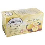 Twinings Lemon & Ginger Herbal Tea Bags