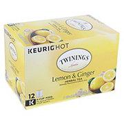 Twinings Lemon & Ginger Herbal Tea K Cup Pods