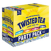 Twisted Tea Hard Iced Tea 12 oz Cans Party Pack