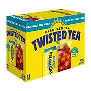 Twisted Tea Hard Iced Tea Half & Half 12 oz Cans