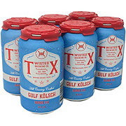 Twisted X Brewing Company Gulf Kolsch Blonde Ale Beer 12 oz  Cans