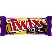 Twix Dark Chocolate Singles Size Cookie Bar Candy