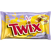 Twix Easter Caramel Minis Size Chocolate Cookie Bar Candy Bag