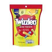 Twizzlers Sour Mini Twists Stand Up Pouch