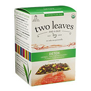 Two Leaves And A Bud Organic Detox Herbal Tea