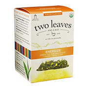 Two Leaves And A Bud Organic Energize Green Tea