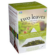 Two Leaves And A Bud Organic Tropical Green Tea Sachets