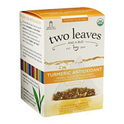 Two Leaves And A Bud Organic Turmeric Antioxidant Tea Bags