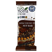 Two Moms in the Raw Wow Cacao Nib Nut Bar