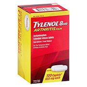 Tylenol 8 HR Arthritis Pain Extended Release 650 mg Tablets
