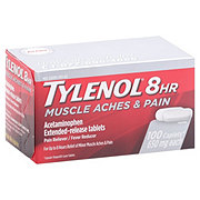 Tylenol 8 HR Muscle Aches & Pain Extended Release 650 mg Tablets