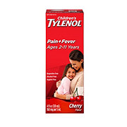 Tylenol Children's Cherry Blast Flavor Acetaminophen Pain and Fever Ages 2-11