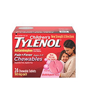 Tylenol Children's Pain + Fever Chewables Bubblegum