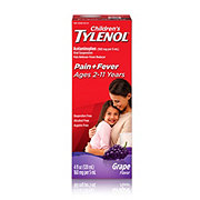 Tylenol Children's Pain + Fever Grape Oral Suspension