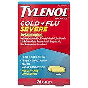 Tylenol Cold + Flu Severe Caplets