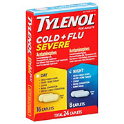 Tylenol Cold + Flu Severe Day/Night Caplets