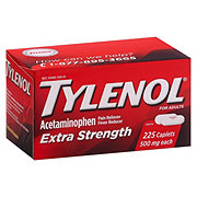 Tylenol Extra Strength Pain Reliever/fever Reducer Acetaminophne 500 mg Caplets
