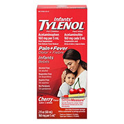Tylenol Infants' Cherry Flavor Pain Reliever/fever Reducer Acetaminophen Oral Suspension
