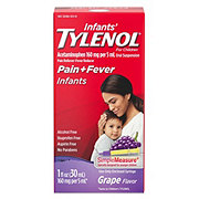 Tylenol Infants' Oral Suspension Grape