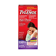 Tylenol Infants' Pain + Fever Grape Oral Suspension