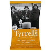 Tyrrell's Mature Cheddar and Chives Potato Chips