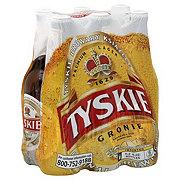 Tyskie Gronie Lager Beer 12 oz Bottles