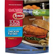 Tyson Fully Cooked Chicken Patties