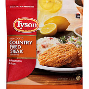 Tyson Fully Cooked Country Fried Steak