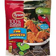 Tyson Fully Cooked Fun Nuggets with Whole Grain Breading