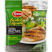 Tyson Fully Cooked Grilled Chicken Breasts Fillets