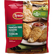 Tyson Fully Cooked Parmesan Herb Crispy Chicken Strips