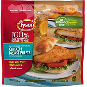 Tyson Fully Cooked Portioned Chicken Breast Fillets