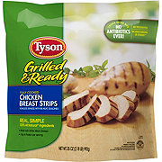 Tyson Grilled & Ready Chicken Breast Strips Family Pack