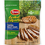 Tyson Grilled Chicken Breast Strips Shop Chicken At H E B
