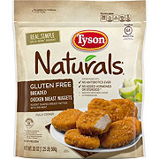 Tyson Naturals Gluten Free Breaded Chicken Nuggets